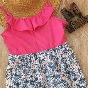 🌴LILLY PULITZER Girl's Starfish Sundress